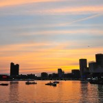 Inner Harbor Sunset